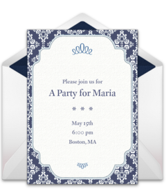 Free formal gathering online invitations punchbowl formal border stopboris Images