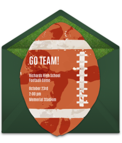 Free Sports Themed Online Invitations Punchbowl