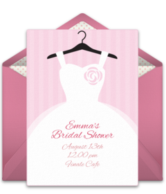 Free bridal shower online invitations punchbowl bridal shower filmwisefo