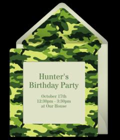 Free Military Online Invitations