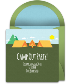 free boys and girls scouts online invitations punchbowl
