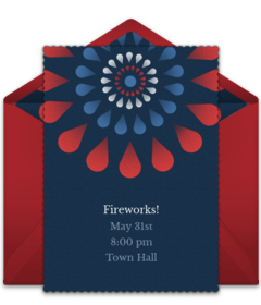 Free 4th of July Online Invitations Punchbowl