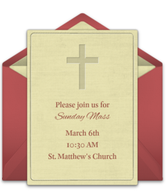 Free Baptism And Christening Online Invitations Punchbowl