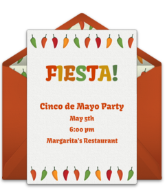 free cinco de mayo online invitations punchbowl