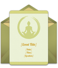 Free Buddhist Online Invitations