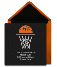 free march basketball online invitations punchbowl