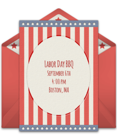 picture about Free Printable Patriotic Invitations named Cost-free Memorial Working day On the net Invites Punchbowl