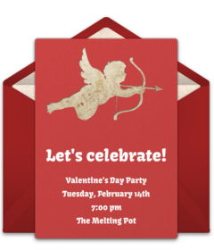 Free Valentines Day Party Online Invitations
