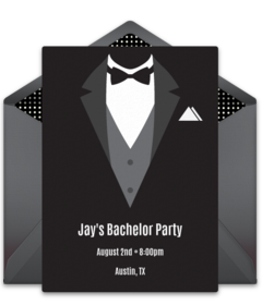 Free Bachelor Party Online Invitations Punchbowl