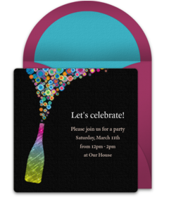 Free Adult Birthday Party Online Invitations Punchbowl - Editable birthday invitations for adults