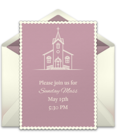 free religious online invitations punchbowl