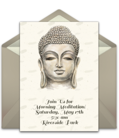 Free Buddhist Online Invitations Punchbowl