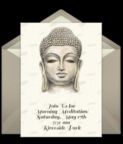 Free Buddhist Online Invitations Punchbowl