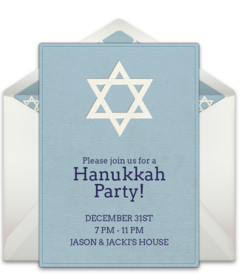 Free Jewish Online Invitations Punchbowl