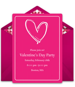 Free Valentine S Day Party Online Invitations Punchbowl