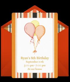 Free Holiday Birthday Online Invitations