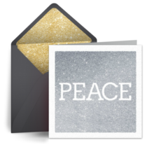 Holiday Peace card image