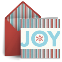 Christmas Joy card image