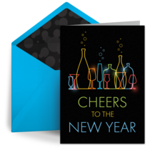 Champagne Cheers card image