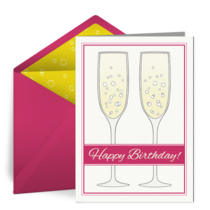 Champagne Glasses card image