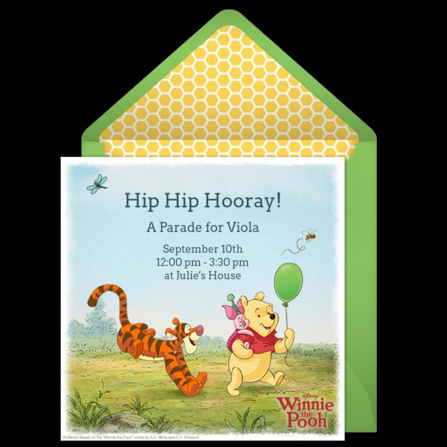 Free winnie the pooh online invitation punchbowl winnie the pooh online invitation filmwisefo Gallery