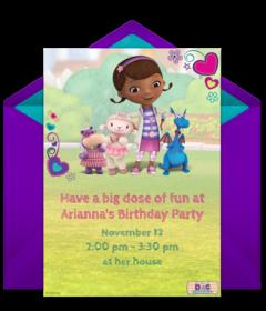 Free 1st Birthday Online Invitations