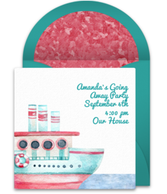 Free Farewell Party Online Invitations | Punchbowl