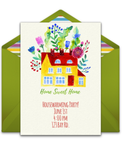 Free housewarming party online invitations punchbowl new house m4hsunfo