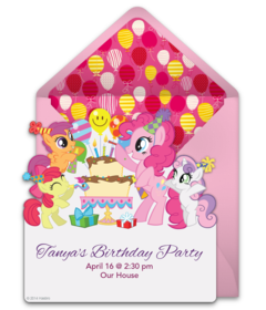My Little Pony Birthday Free