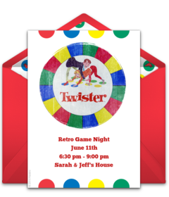 Free Game Night Online Invitations Punchbowl