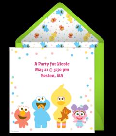 Baby Sesame Street Pals