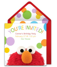 Elmo Free Plus Sesame Street Party