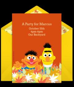 free sesame street online invitations punchbowl