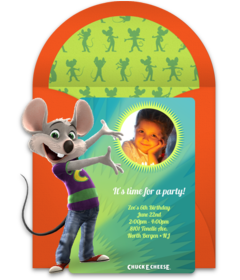 Chuck e cheeses online invitations punchbowl chuck e cheeses spotlight filmwisefo Gallery
