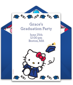 Free preschool online invitations punchbowl hello kitty graduation filmwisefo