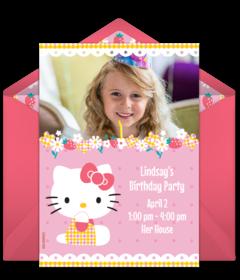 Free 1st Birthday Online Invitations Punchbowl