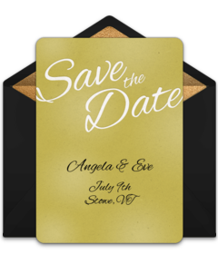 Free Save The Date Online Cards Announcements Punchbowl - Save the date holiday party templates free