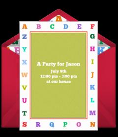 Free Preschool Online Invitations Punchbowl