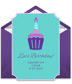Free girl birthday party online invitations punchbowl stopboris Images