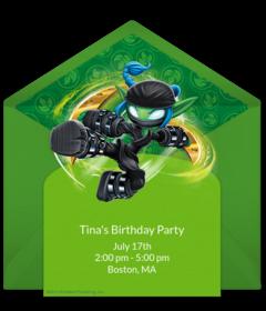 Free Skylanders Online Invitations Punchbowl