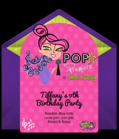 Free Sweet & Sassy Online Invitations | Punchbowl