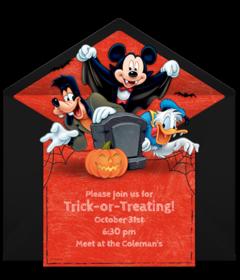Free Halloween Online Invitations | Punchbowl