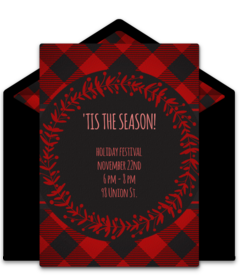 online christmas party invitations