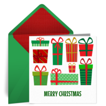 Christmas Gifts card image