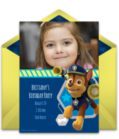 PAW Patrol Chase Photo