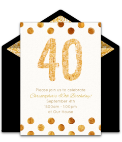 Free Adult Birthday Party Online Invitations Punchbowl