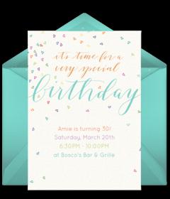 free teenage birthday invitations