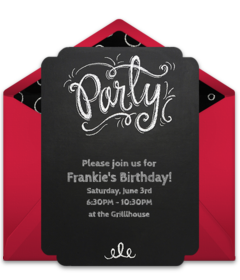 Free Teen Birthday Online Invitations