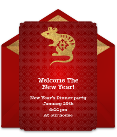 Free Chinese New Year Online Invitations Punchbowl