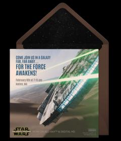 Free Star Wars Online Invitations | Punchbowl